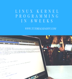 Linux Internal Programming Training (instructor Led training by Experts)
