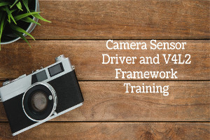 Camera Sensor Driver and V4l2 framework training (Self Paced Pre recorded Videos  )